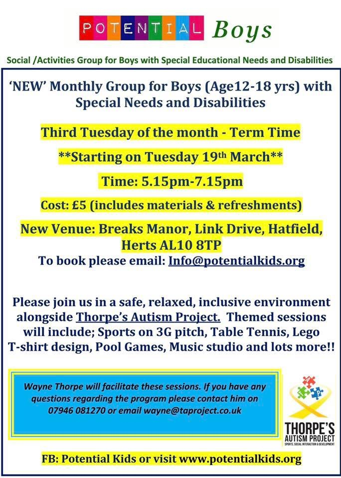 Potential Kids - Boys Group