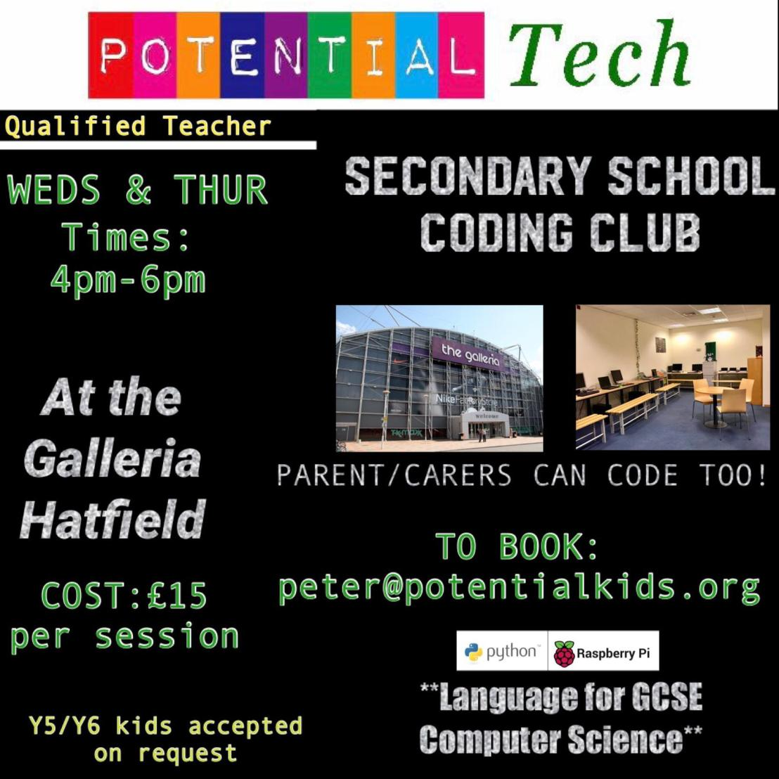 Potential Tech Sessions